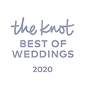 Winner of 2020 Best of Weddings from the Knot
