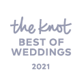Winner of 2021 Best of Weddings from the Knot